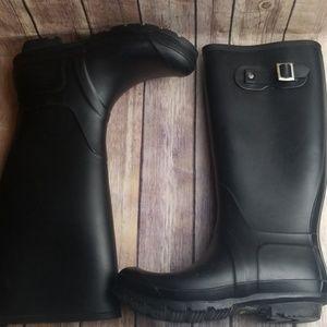 Black Capelli Tall Rain Boots